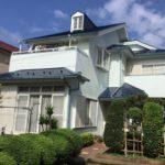 松戸市二十世紀が丘柿の木町 N様邸     屋根・外壁塗装工事画像