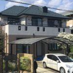 松戸市二十世紀が丘柿の木町 T様邸     屋根・外壁塗装工事画像